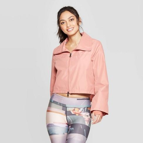 Women's Cropped Woven Jackets - JoyLab™ - image 1 of 2