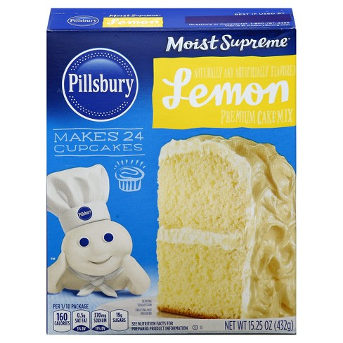 Pillsbury Lemon Cake - 15.25oz - image 1 of 1