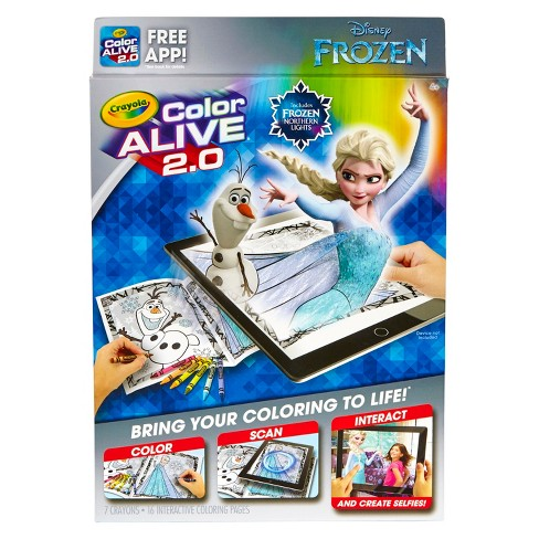 Crayola® Color Alive™ 2.0 - Frozen - image 1 of 6