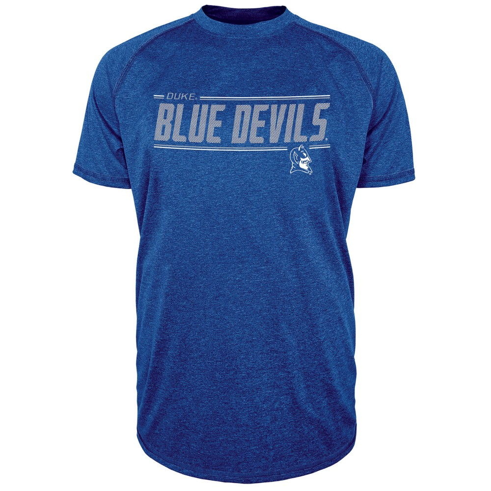 Duke Blue Devils Men's Team Speed Poly Performance T-Shirt Xxl, Multicolored