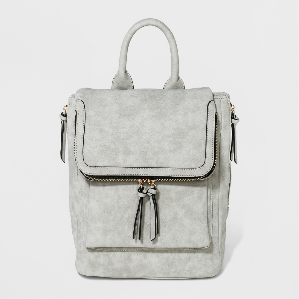 VR By Violet Ray Kendall Backpack - Light Gray