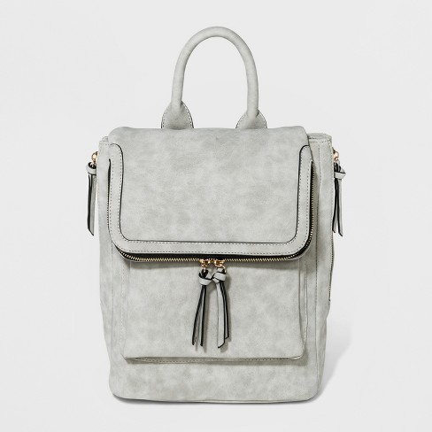 c6595837f0 VR By Violet Ray Kendall Backpack - Light Gray   Target