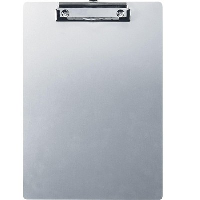 OfficeMate Aluminum Clipboard Silver (83211) 607239