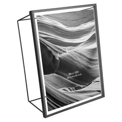 "8"" x 10"" Wire Frame Black - Stonebriar Collection"