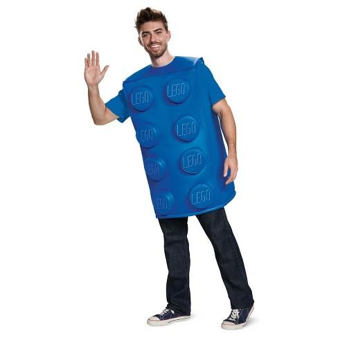 8b50b6a47e LEGO Adults  Blue Brick Classic Halloween Costume M - Disguise   Target