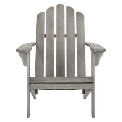 Topher Adirondack Chair - Gray Wash - Safavieh