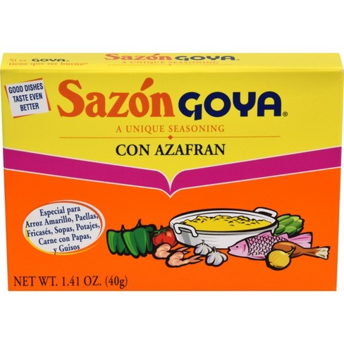 Goya Sazon con Azafran 1.41 oz - image 1 of 4