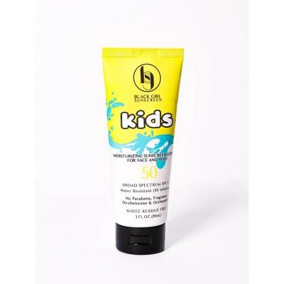 Black Girl Sunscreen Kids Broad Spectrum - SPF 50 - 3 fl oz