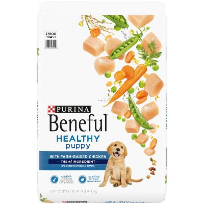 Purina Beneful with Real Chicken Healthy Puppy Dry Dog Food