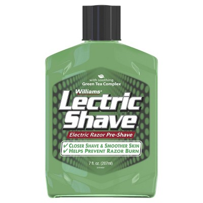 Williams Lectric Shave Original with Green Tea Complex - 7oz