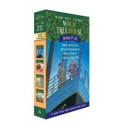 Magic Tree House Books 17-20 Boxed Set - (Magic Tree House (R)) by  Mary Pope Osborne (Mixed Media Product)