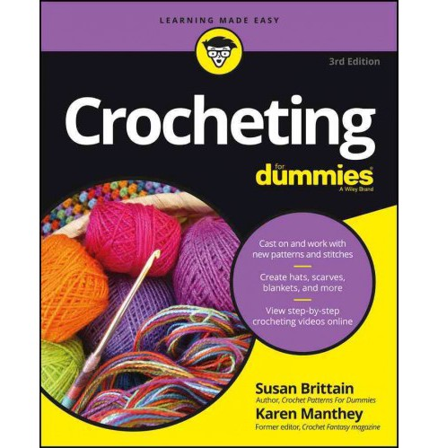 Crocheting for Dummies (Paperback) (Karen Manthey & Susan Brittain) - image 1 of 1