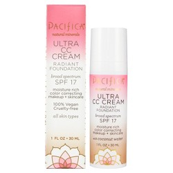 Pacifica Ultra CC Cream Radiant Warm/Light Foundation - 1 fl oz