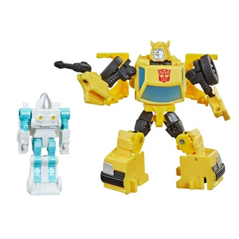 Transformers Buzzworthy Bumblebee War for Cybertron Core Bumblebee & Spike Witwicky 2-Pack - image 1 of 4