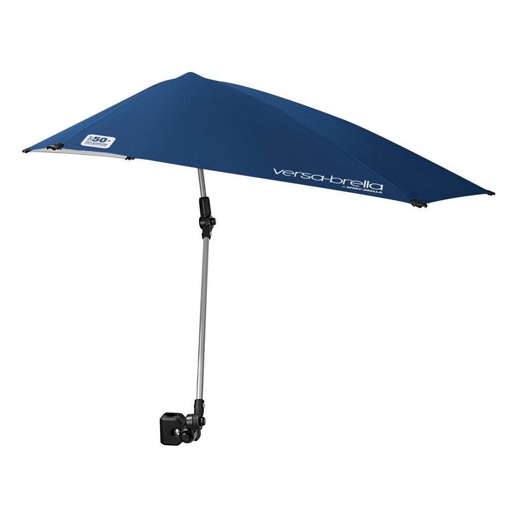 Image of Versa-Brella XL with Universal Clamp - Midnight Blue, Black Blue
