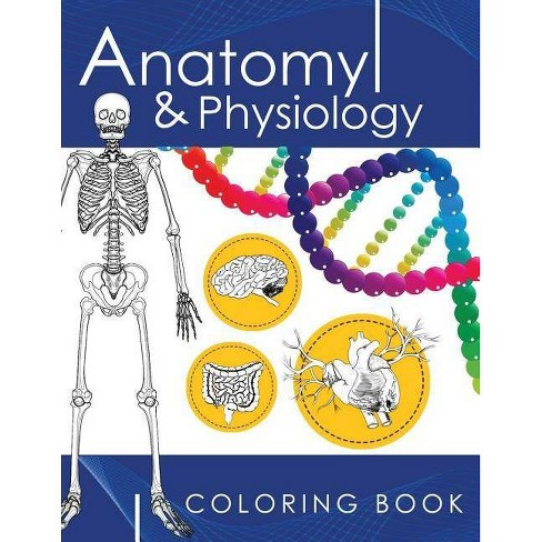 Anatomy & Physiology Coloring Book - by  Dr James D Ladner (Paperback) - image 1 of 1
