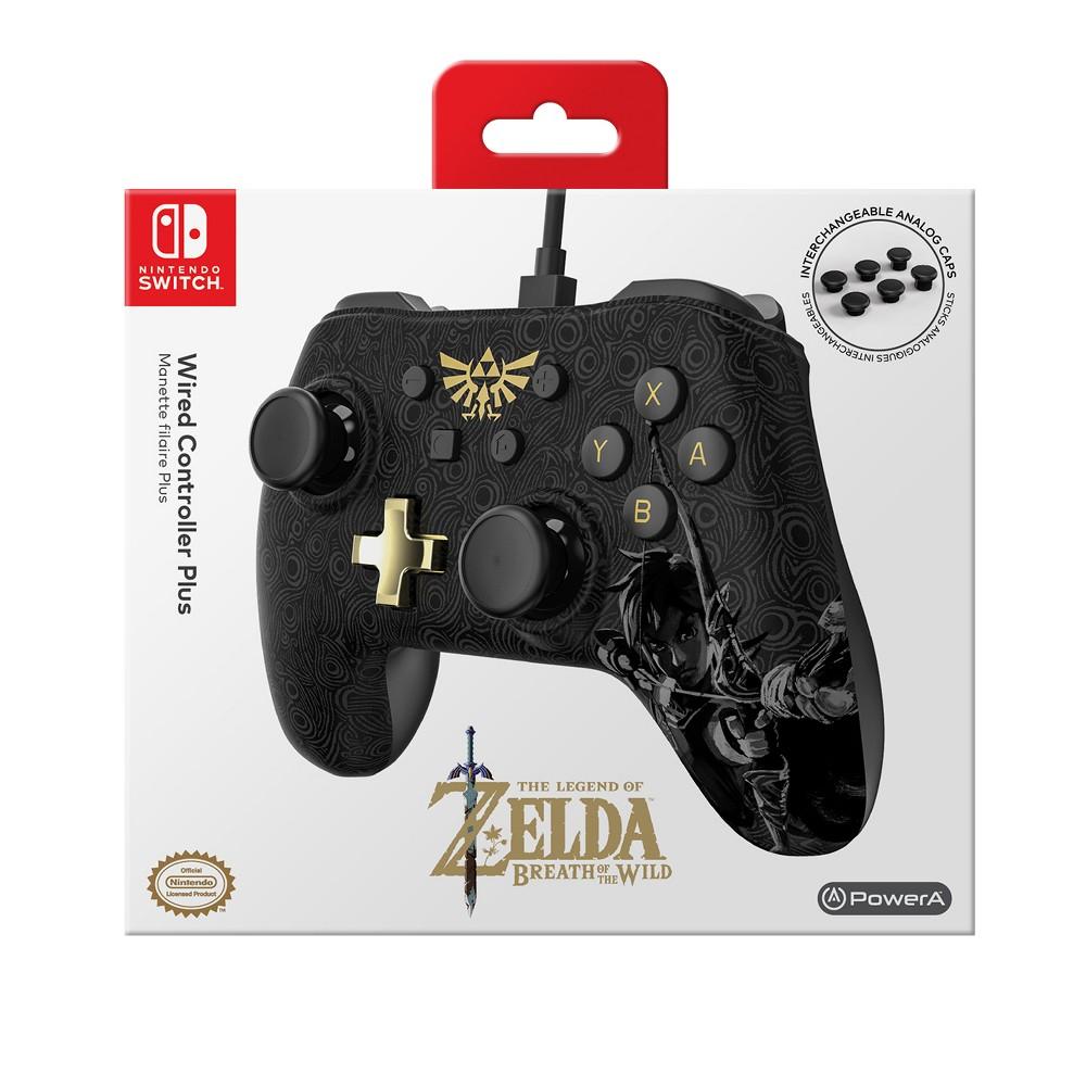 PowerA Wired Controller Plus for Nintendo Switch - Zelda:...