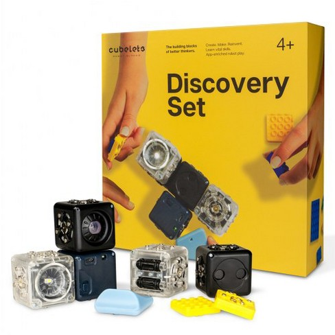 Modular Robotics Cubelets Discovery Set - 6 Piece Set with Bluetooth - image 1 of 6