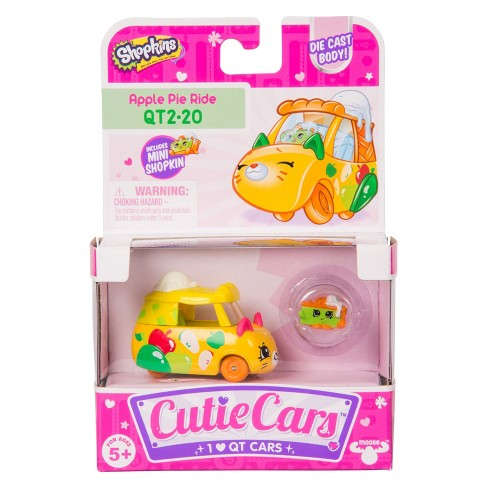 Cutie Cars® Shopkins® Single pack - Apple Pie Ride - image 1 of 8