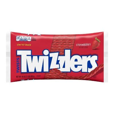 Twizzlers Strawberry Flavored Twists - 16oz