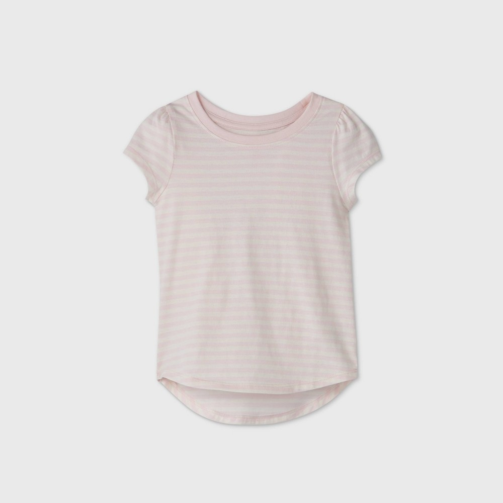 Promos Toddler Girls' Striped Short Sleeve T-Shirt - Cat & Jack™