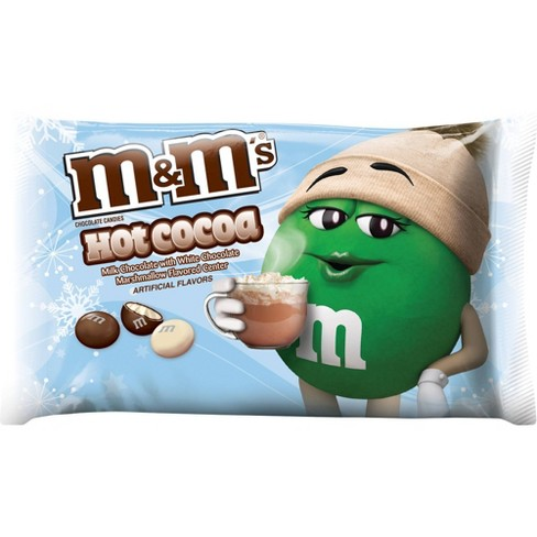 M&M's Holiday Hot Cocoa Milk Chocolate Candies - 8oz - image 1 of 4