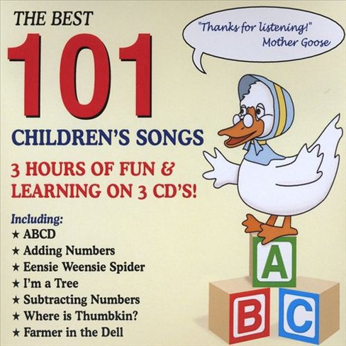 Bugs bower - Best 101 children's songs (CD) - image 1 of 1