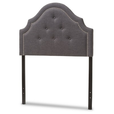 Cora Modern And Contemporary Fabric Upholstered Headboard - Twin - Baxton Studio