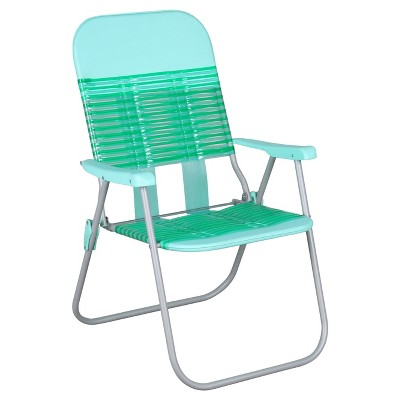 Fabulous Jelly Folding Beach Chair Turquoise Green Room Gmtry Best Dining Table And Chair Ideas Images Gmtryco