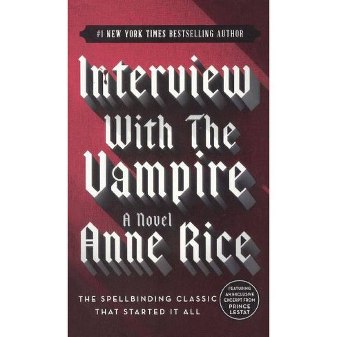 Interview with the Vampire - (Vampire Chronicles (PB)) by  Anne Rice (Hardcover) - image 1 of 1