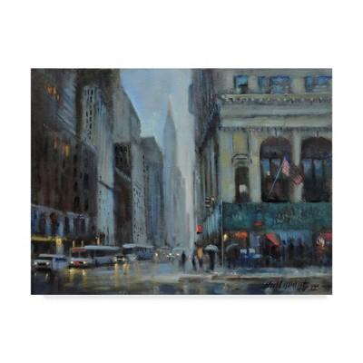 "35"" x 47"" Chrysler Building, Manhattan by Hall Groat Ii - Trademark Fine Art"