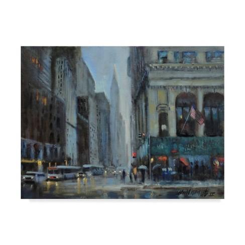 "14"" x 19"" Chrysler Building, Manhattan by Hall Groat Ii - Trademark Fine Art - image 1 of 4"