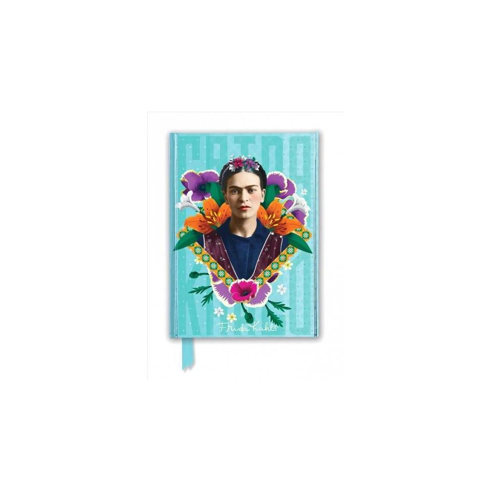 Frida Kahlo Blue Foiled Journal - New (Flame Tree Notebooks) (Hardcover)
