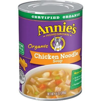 Annie's Organic Chicken Noodle Soup - 14oz