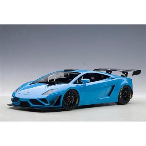 Lamborghini Gallardo Gt3 Fl2 2013 Blue 1 18 Model Car By Autoart