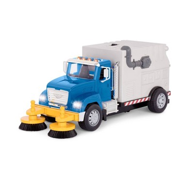 DRIVEN – Large Toy Truck with Movable Parts – Street Sweeper