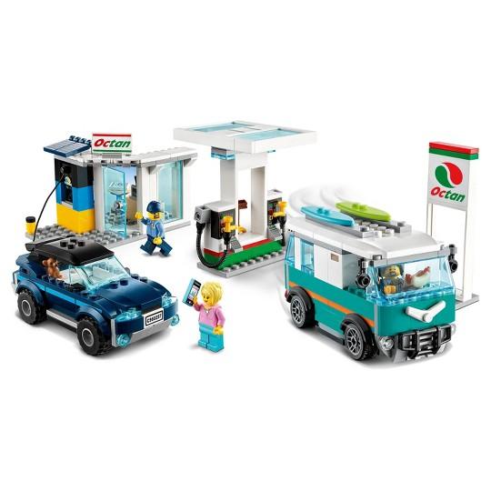LEGO City Service Station Building Set 60257 image number null