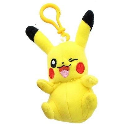 Tomy Pokemon 3 Inch Plush Clip On - Pikachu