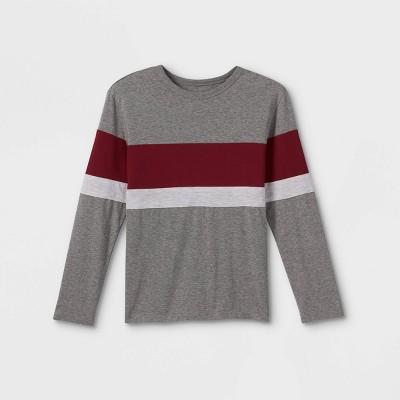 Boys' Colorblock Long Sleeve T-Shirt - Cat & Jack™