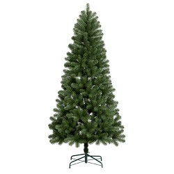 7ft Unlit Artificial Christmas Tree Alberta Spruce - Wondershop™