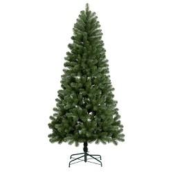 7ft Unlit Artificial Christmas Tree Alberta Spruce - Wondershop™