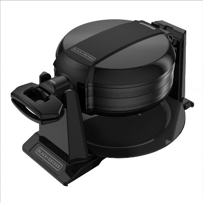 BLACK+DECKER Rotating Waffle Maker - Black WMD200B