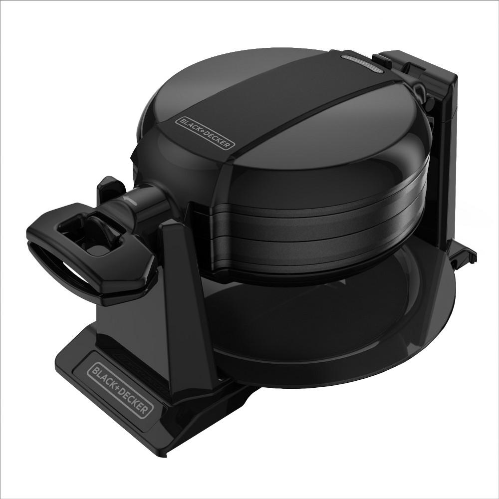 Image of BLACK+DECKER Rotating Waffle Maker - Black WMD200B