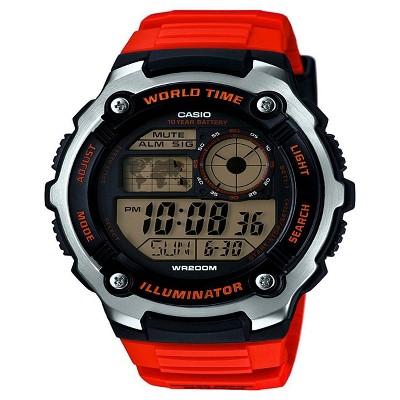 Casio Men's Performance Stainless Steel Wristwatch