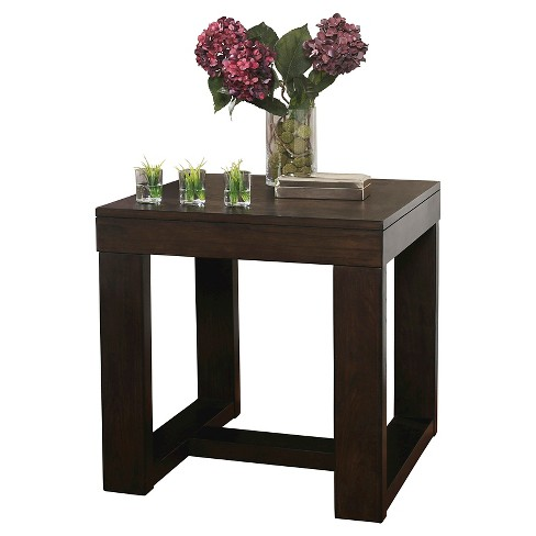 Watson Square End Table Dark Brown - Signature Design by Ashley - image 1 of 3