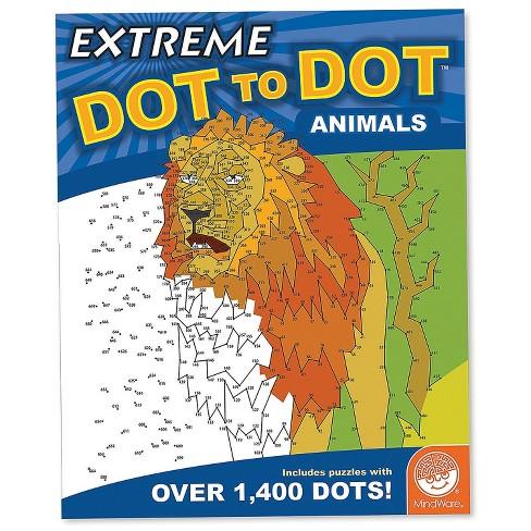 MindWare Extreme Dot To Dot: Animals - Brainteasers - image 1 of 3