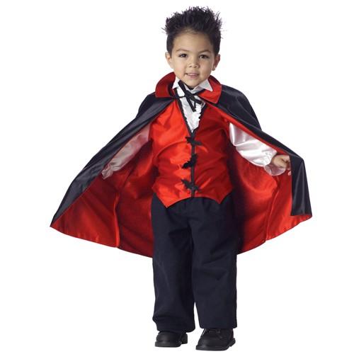 Halloween Toddler Kids' Vampire Costume 2T-4T, Men's, Size: Small
