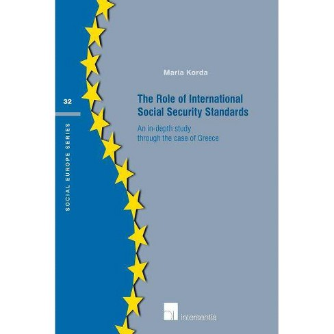 The Role of International Social Security Standards - (Social Europe) by  Maria Korda (Paperback) - image 1 of 1