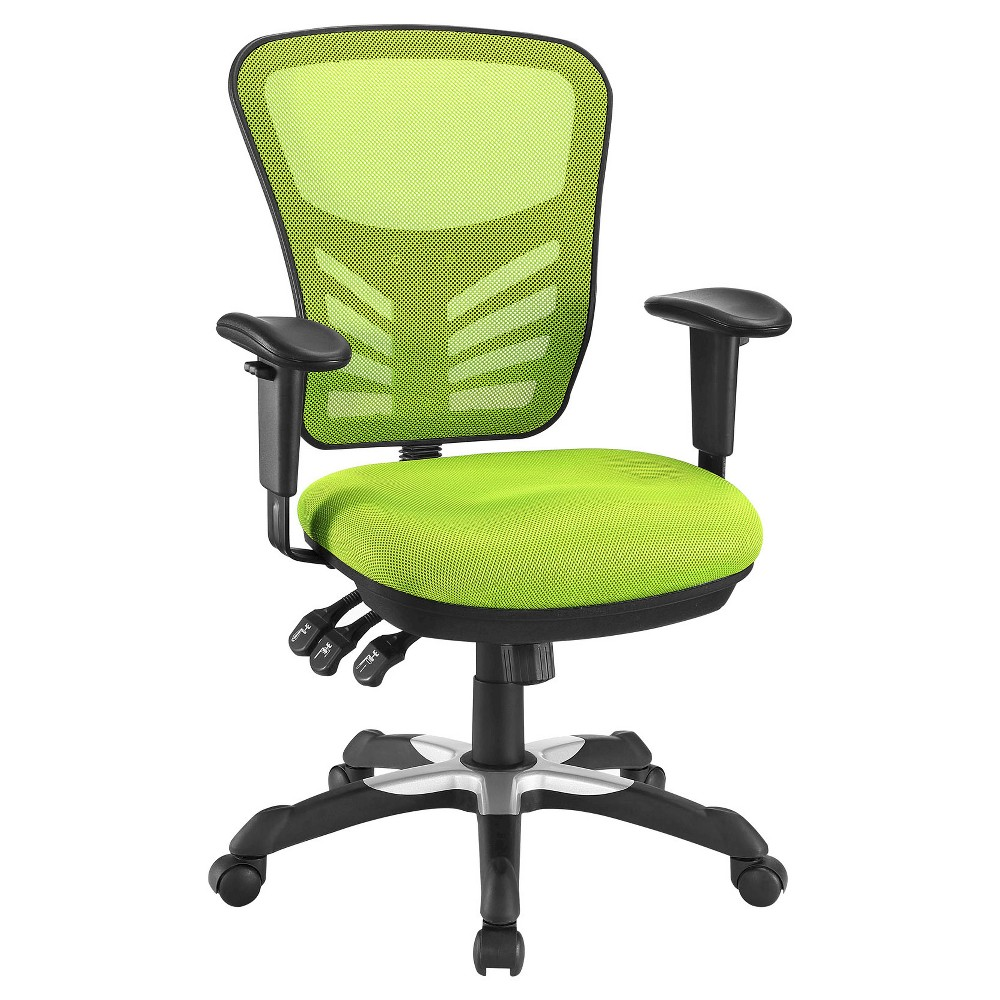 Office Chair Modway Neon Green