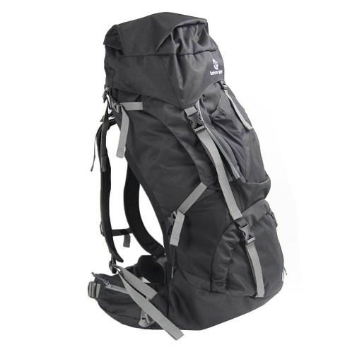 Tahoe Gear Fairbanks 75L Premium Internal Frame Hiking Backpack - Black - image 1 of 4